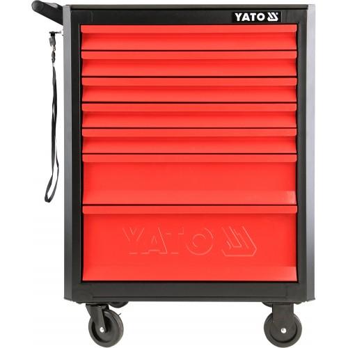 Инструментальная тележка с 7 ящиками YATO YT-09000