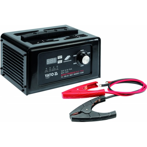 Зарядно-пусковое устройство 12/24 v. YATO YT-83051