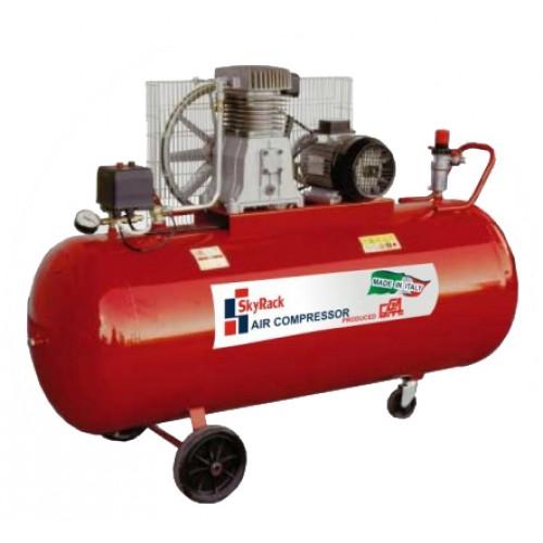 Компрессор поршневой ременной повышенного давления (380В, ресивер 500 л, 15 бар)