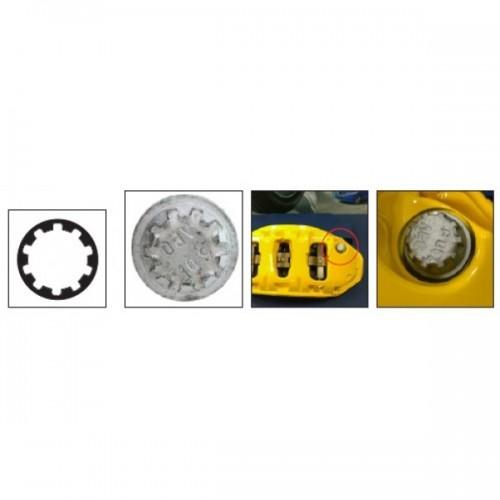 Головка для тормозного суппорта PORSСHE 20 мм, 10 шлицов 4598 JTC