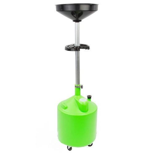 Установка для слива масла пластиковая (75л) G.I. KRAFT HDP-75