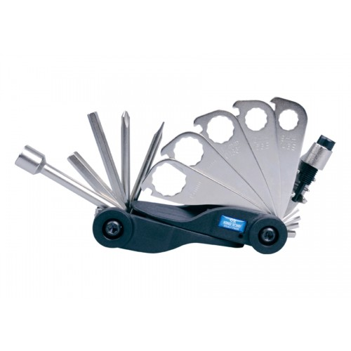 Вело мультиинструмент (кассета)- ключи, отвертки,шестигранники KING TONY 20A17MR
