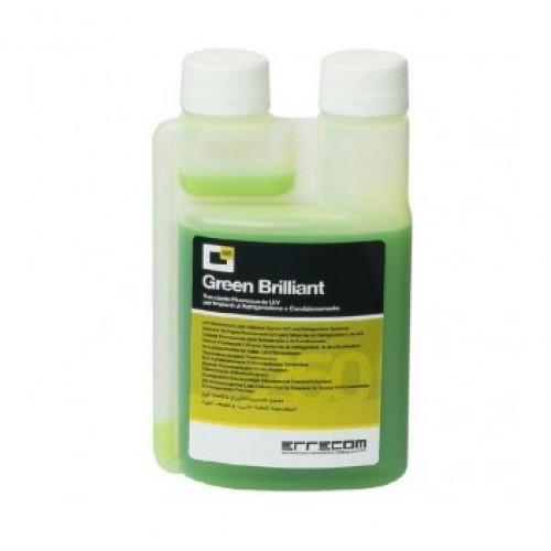 Зеленый ультрафиолетовый краситель для поиска утечек фреона флакон 250 мл с дозатором 5/10 мл ERRECOM TR1032.01.S3