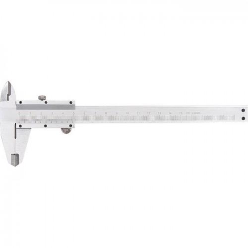 Штангенциркуль, 150 мм, цена деления 0,02 мм, металлический, с глубиномером. MATRIX