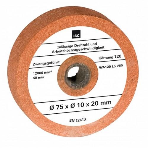 Шлифовальный диск для точила 75x10x20мм G120