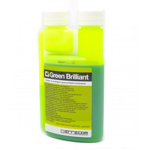 Ультрафиолетовый краситель 250мл (R12, R134a и R1234yf) Errecom Green Brilliant TR1032.01.S3(S1)