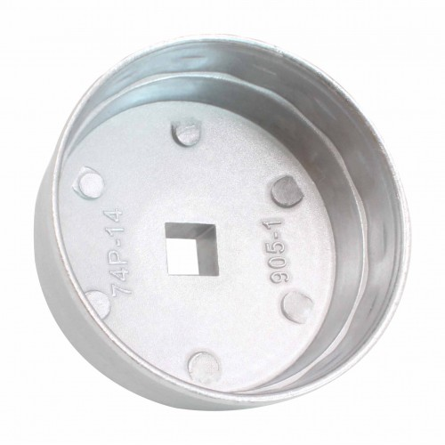 Съемник масляного фильтра 14гр./74мм МERCEDES, ВМW, AUDI, VW, OPEL, HYUNDAY, KIA S-WG7414 SATRA