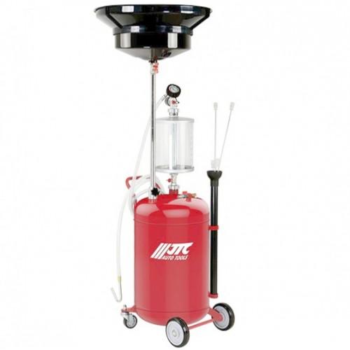Устройство для слива и откачки технических жидкостей с мерной емкостью 80л 1646A JTC