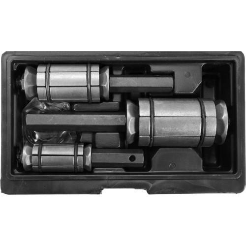 Набор для увеличения диаметра выхлопной трубы 3 шт. YATO YT-06166