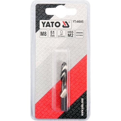 Сверло - метчик М8 х 1,25мм YATO YT-44845