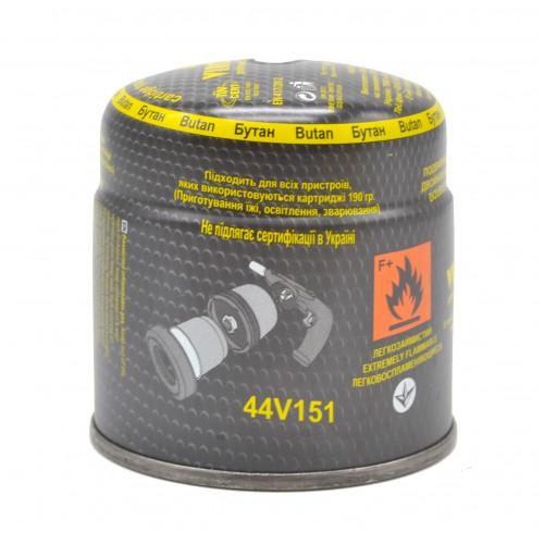 Баллон газовый 190 г  под горелку VIROK тип 200, 190 г 44V151
