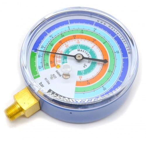"""Манометр низкого давления для коллекторов с конусной резьбой 1/8"""" NPT"""