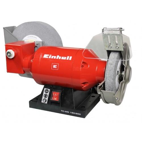 Станок точильный, 250 Вт, диск жесткий 150 мм, диск мягкий 200 мм, влажная/сухая заточка