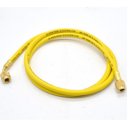Гибкий шланг для обслуживания кондиционеров R134A, R22, R407C 1,5 м (Желтый) MASTERCOOL MC  -  41602