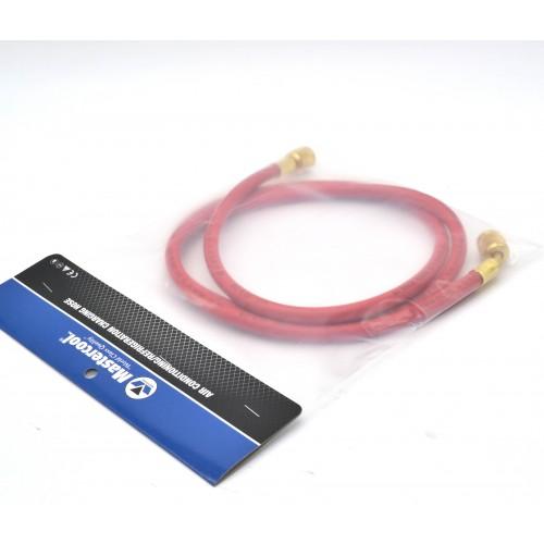 Гибкий шланг для обслуживания кондиционеров R134A, R22, R407C 1,5 м (Красный) MASTERCOOL MC-41603