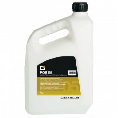 Синтетическое масло для кондиционеров и холодильных систем 5,00 л.  POE-55 Errecom OL6055.P.P2