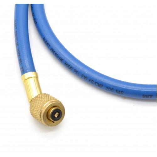 Гибкий шланг для обслуживания кондиционеров 90 см, R134A, R22, R407C (Синий) MASTERCOOL MC-41361