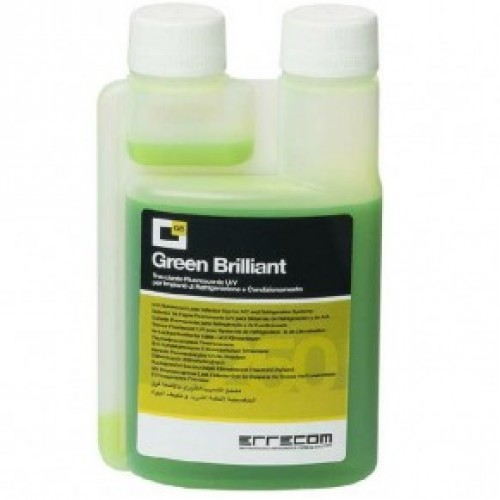 Ультрафиолетовый краситель 350 мл (для  R12, R134a и R1234yf (авто))Errecom Green Brilliant TR1033.01.S1