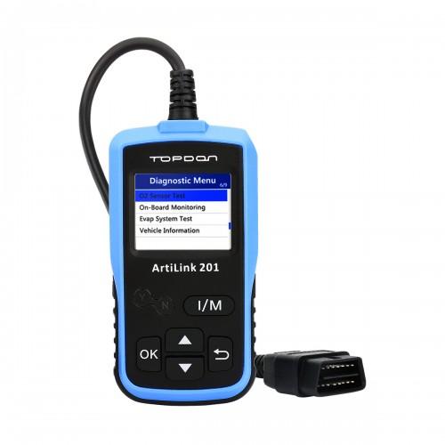 Диагностический OBD2  сканер TOPDON  ArtLink 201