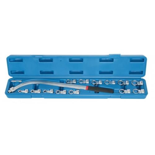 Набор специальных  ключей с сменными насадками QUATROS QS50635C