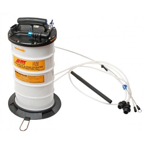 Приспособление для откачки тех. жидкостей комбинированное (ручное + пневматическое) 1050 JTC
