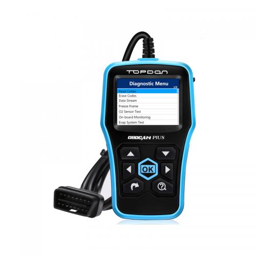 Диагностический OBD2 сканер TOPDON Plus CAN