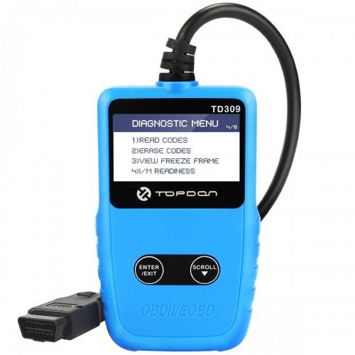 Диагностический OBD2 сканер TOPDON TD 309