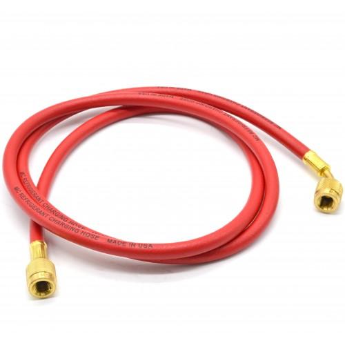 Гибкий шланг для обслуживания кондиционеров R134A, R22, R407C 1,5 м (Красный) MASTERCOOL MC  -  41603