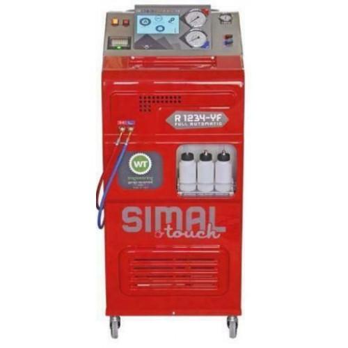 Установка автоматическая для автомобильных кондиционеров с новым газом 1234YF с принтером Simal 1234YF