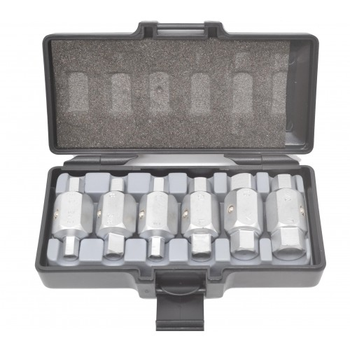 Набор ключей торцевых для замены масла 6 ед. FORCE
