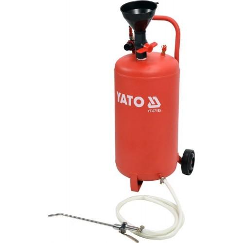 Маслонагнетательный  бак пневматический 20 л 0,5 МПа YATO YT-07195