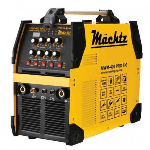 Аргонодуговой сварочный аппарат мощностью 6100 TIG, 9500 MMA Mächtz MWM-400 PRO TIG