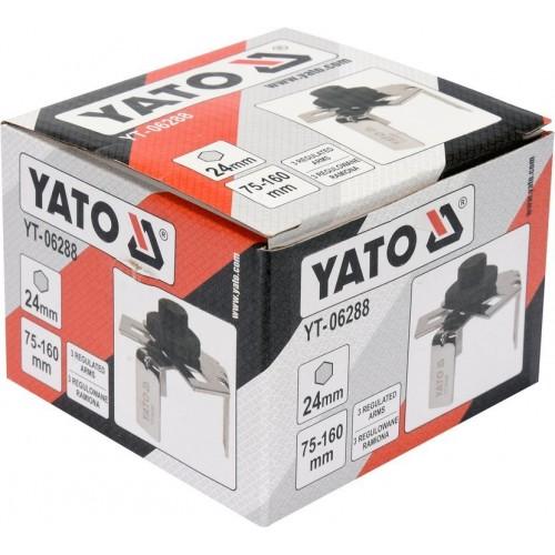 Съемник топливных насосов  YATO  Ø=75-160 мм YT-06288
