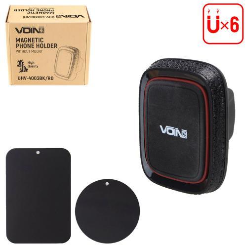 Держатель мобильного телефона VOIN UHV-4003BK/RD магнитный, без кронштейна (UHV-4003BK/RD)