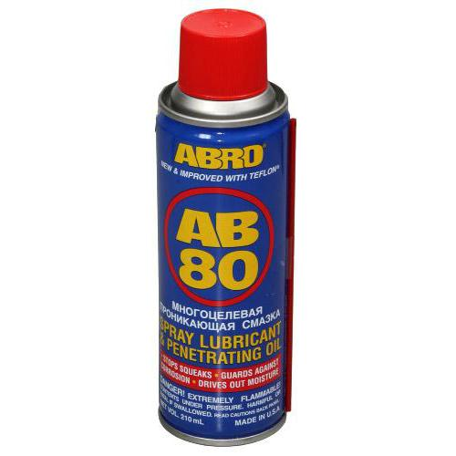 ABRO Проникающая смазка AB 80 (283мл) (AB-80)