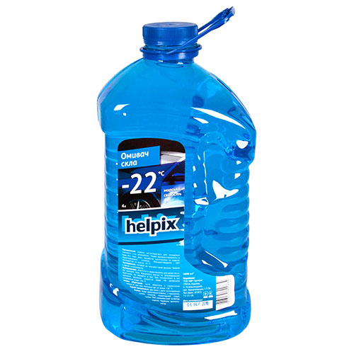 Омыватель стекол зимний HELPIX 4Л
