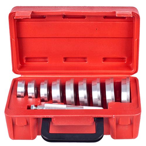 Набор оправок для установки сальников и подшипников 39,5 - 81мм. 10 предм. 39,5-81 мм. Alloid. (НП-1040)