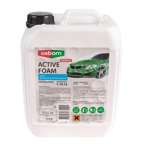 Активная пена OSBORN PREMIUM концентрат 1:10-12 ( 5л / 5,5 кг ) (PREMIUM  5)