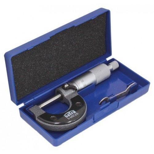 Микрометр 0-25 мм SATRA S-MIC25