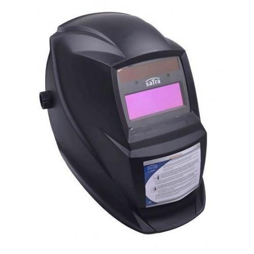 Маска для сварки самозатемнение DIN15 + аккум SATRA S-KM19