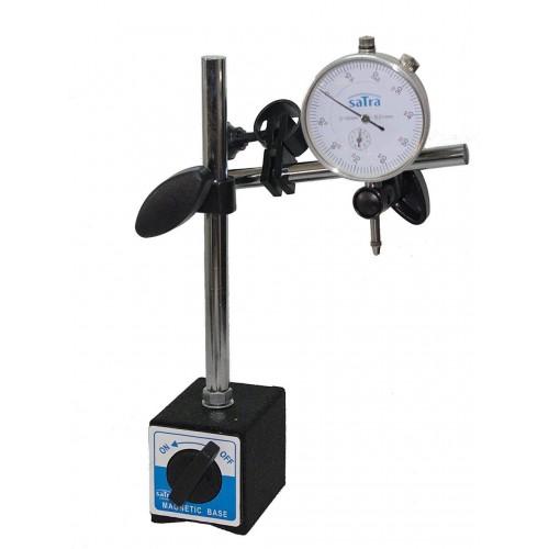 Штатив магнитный + стрелочный индикатор SATRA S-MAHO2