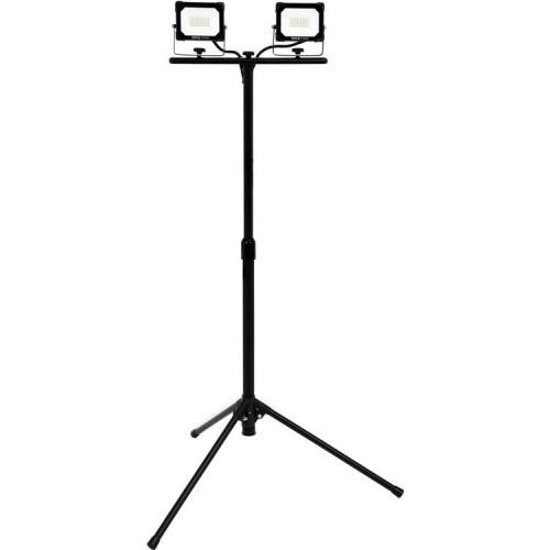 Светодиодный прожектор 2х20W 1800LM  на стойке  YATO YT-81815