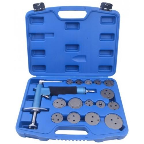Комплект для тормозных поршней с пневматическим прессом 16 ед. QS70065A