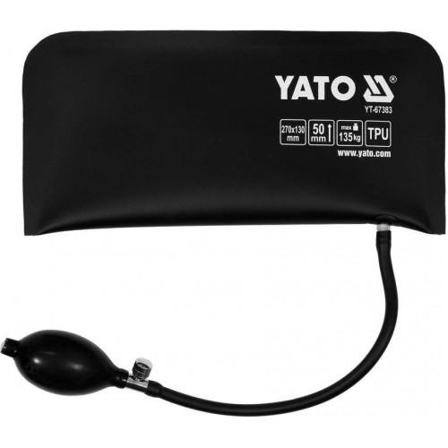 Подушка для аварийного открытия дверей автомобиля 270х130мм YATO YT-67383