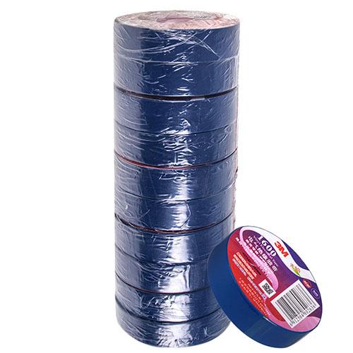 Изолента  синяя 3М (18мм*10м*0,13мм) 3М 1500 (Blue)