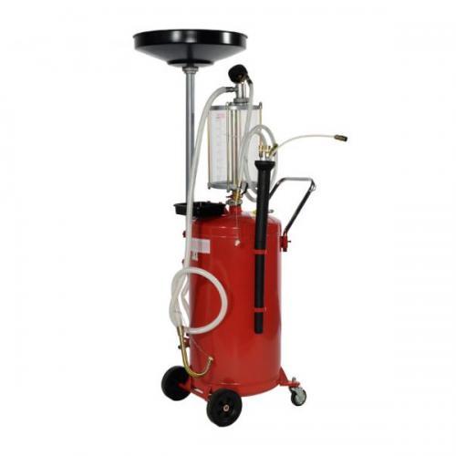 Установка для слива и вакуумной откачки масла с мерной колбой 90л   TORIN  TRG2090