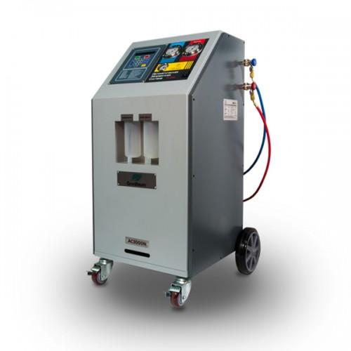 Установка для заправки автомобильных кондиционеров , полуавтоматическая, R134a GrunBaum AC3000N
