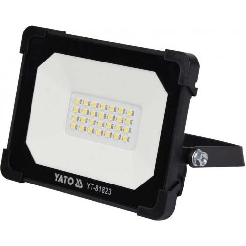 Светодиодный прожектор с ручкой SMD LED 20W 6500 К 1800LM YATO YT-81823