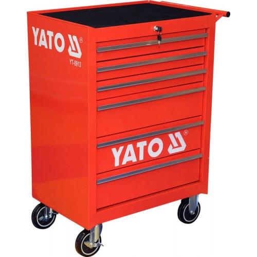 Инструментальная тележка с 6 ящиками  YATO YT-0913