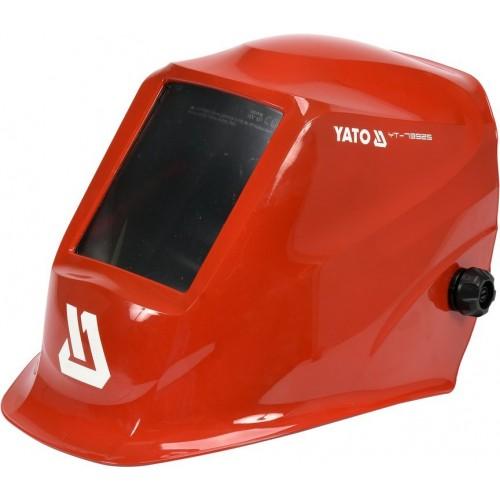 Маска для сварщика с автозатемненным светофильтром 100 х 50 мм YATO YT-73925